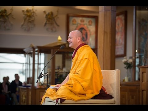 Enjoying Our Practice Through Familiarity And Confidence - Gen Kelsang Ananda