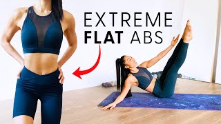 Extreme Ab Flattener | ADVANCED PILATES ABS WORKOUT