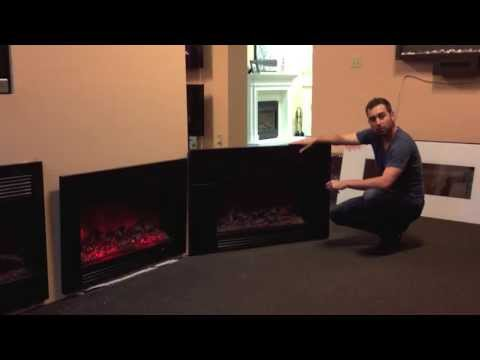dynasty sd 30 zero clearance electric fireplace - Electric Fireplaces Clearance