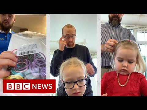 'We're the dads who started a hair school' - BBC News