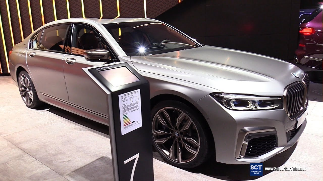 2019 Bmw 7 Series M760 Li V12 Xdrive Exterior Interior Walkaround 2019 Iaa Frankfurt Auto Show Youtube