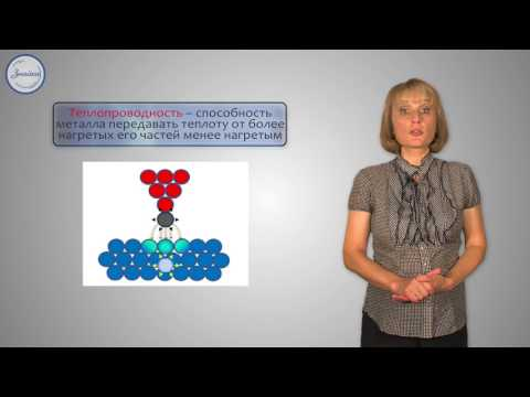 Химия 9 класс. Физические свойства металлов