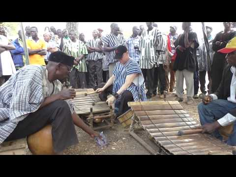 Traditional Gyil: Bernard Woma & Jersome Balsab Perform Bine at a Dagara Funeral