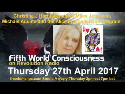 Christine J Hart talks about Miles Johnston, Michael Aquino and the Alice in Wonderland Program