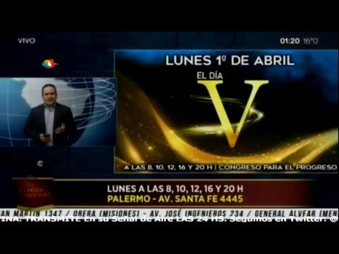 Emisión en directo de TVM CANAL 27