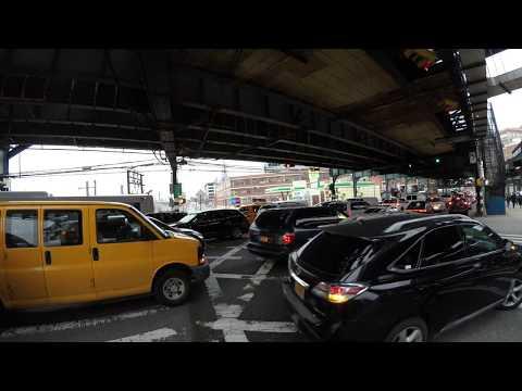 ⁴ᴷ NYC Traffic Blocking the Box / Gridlock 【1 Hour】- March 1, 2018 at Queens Boulevard & Skillman Av
