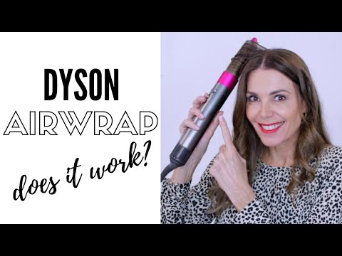 Simple Beachy Waves Using The Dyson Airwrap | Review