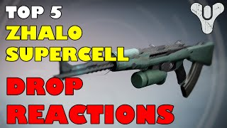 Destiny: Top 5 Zhalo Supercell Drop Reactions / Freak-outs