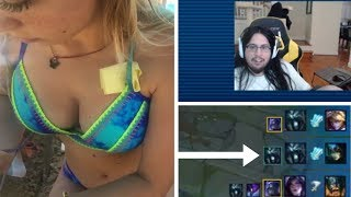 Imaqtpie Shows The Brain Of Pro Gamer! When You Get Kill+Assist! Best LOL Streamers Highlights#21