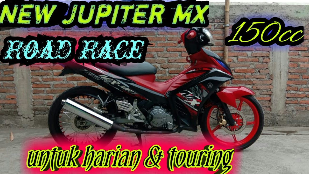 New Jupiter Mx 135 Modif Road Race Harian