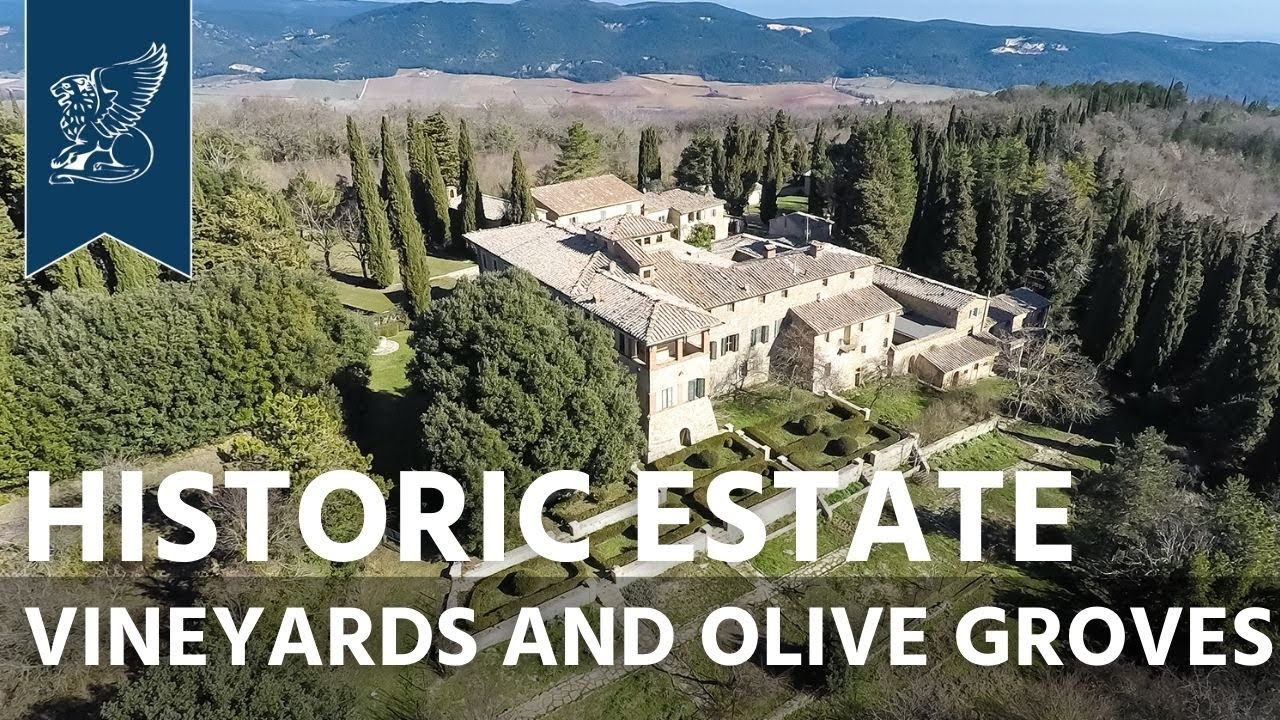 Villas Near Siena Italy historic villa in the heart of tuscany, near siena | italy - ref. 0475