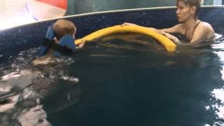 Плавание с детьми 2-3 лет