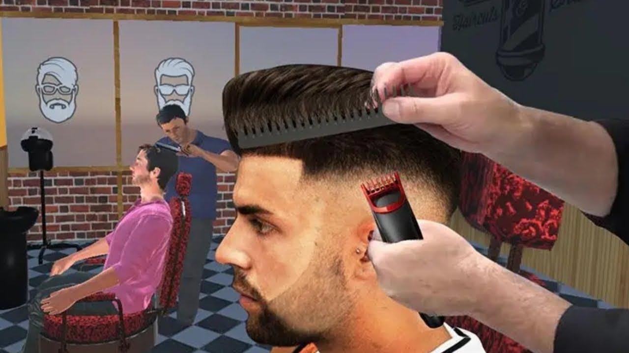 Berbar Shop Hair Salon 3d Crazy Hair Cutting Gameplay