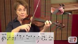Violin Lesson - How to Play the Canon by Pachelbel