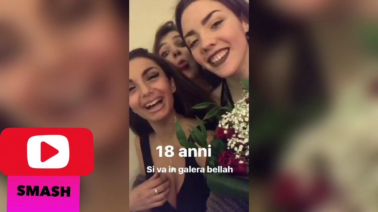 elettra lamborghini al 18 della sorella - youtube