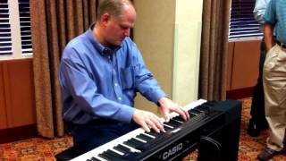 CJ Lewis on the Casio Privia PX-350
