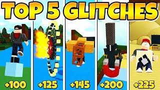 TOP 5 GLITCHES In Build a Boat! *Updated*