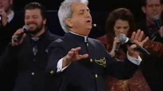 "Benny Hinn sings ""He Touched Me"" (2010)"