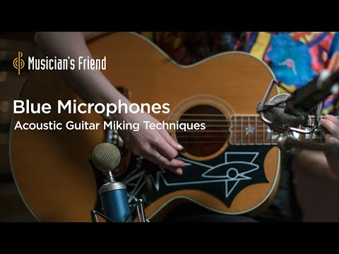 Acoustic Guitar Miking Techniques with Blue Microphones and Cameron Webb