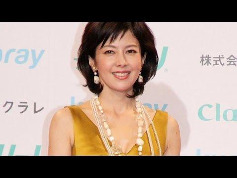 沢口靖子、ひざ上丈のミニドレス姿で美脚賞授賞式に!50歳の変わらぬ美貌に熱視線「第13回クラリーノ美脚大賞2015」 #Yasuko Sawaguchi #event