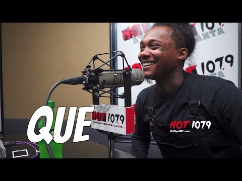 Rapper Que Has Been Off The Scene For A While & We Wanted To Find Out Why?