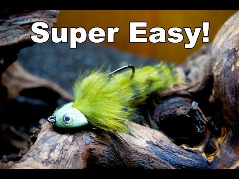 Easy Sculpin Streamer - Great Fly For Trout In Rivers - McFly Angler Fly Tying