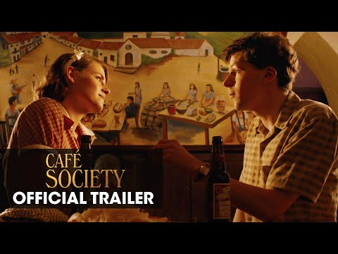 Café Society (Woody Allen 2016 Movie) – Official Trailer