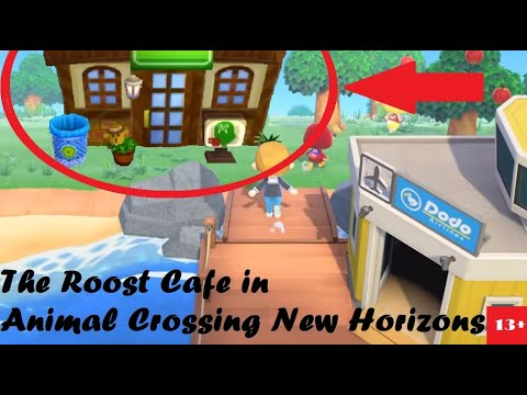 café animal crossing new life