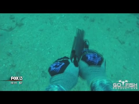 Florida man makes underwater Glock to hunt lionfish