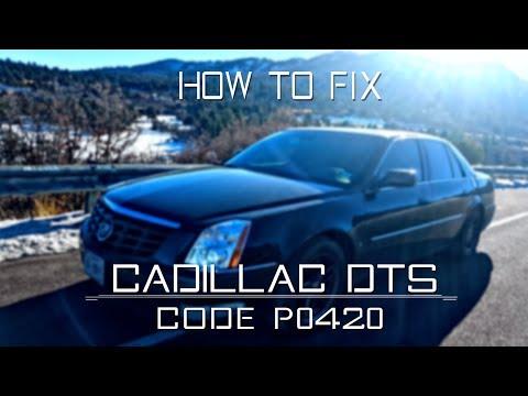 2006 Cadillac DTS - P0420 Repair - YouTube