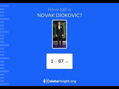 How Tall Is Novak Djokovic Height Revealed Youtube