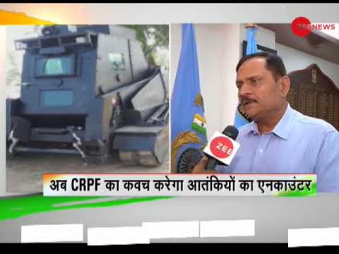 Deshhit: CRPF builds new intervention vehicle to fight Jammu and Kashmir militants