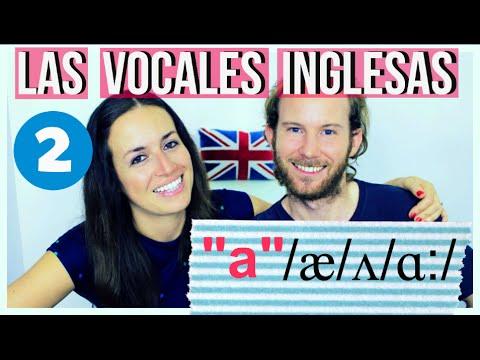 """Pronunciación en inglés - Los Sonidos de la """"a"""" /æ/ʌ/ɑ:/"""