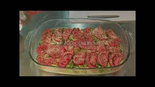 Receta e Ditës - Tavë brokoli me domate dhe vezë