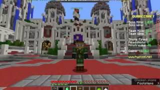 Minecraft Hypixel Server | Quakecraft Minigame | Gameplay