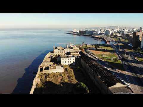 Montevideo y área metropolitana, Uruguay desde arriba Full HD 4K