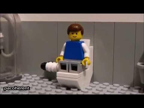 Lego Wc Lego Au Toilette Merde Youtube