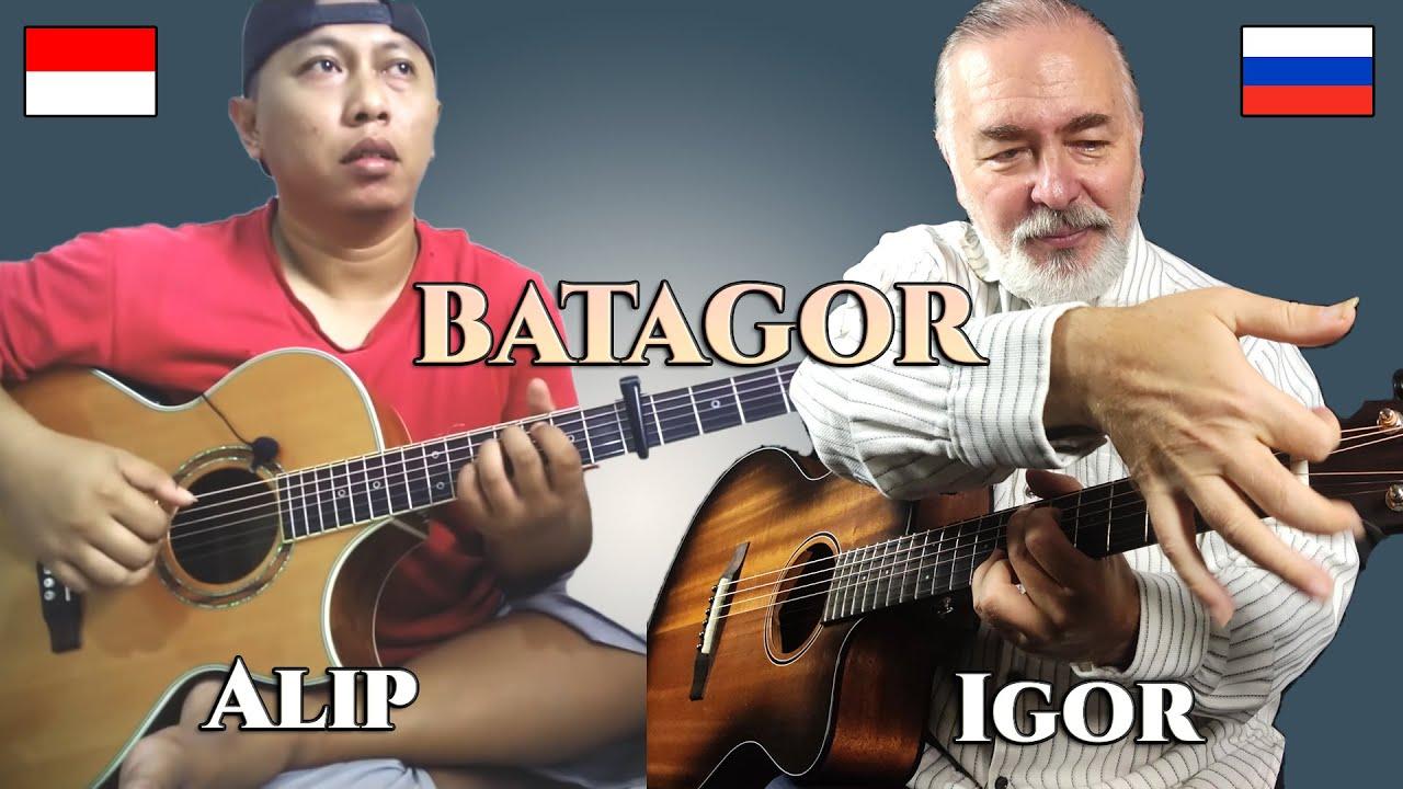 Ngopi Pagi - Igor Presnyakov & Alip Bata (BATAGOR) - fingerstyle guitar duet