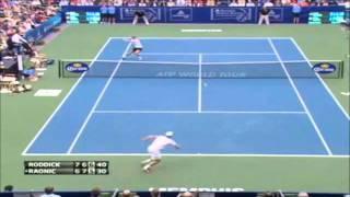 ANDY RODDICK - Amazing Tennis Shot