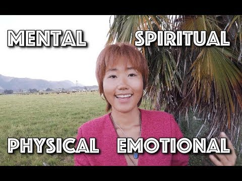 우리가 가진 4가지 몸 : Physical, Emotional, Mental, Spiritual Body