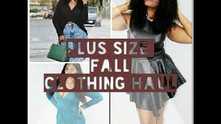 PLUS SIZE FALL CLOTHING/ SHOE HAUL