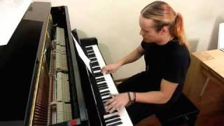 My Stratovarius - Black Diamond cover, piano, including the solos. ...