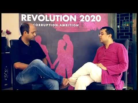 author-chetan-bhagat-on-his-book-'revolution-2020'---exclusive-interview