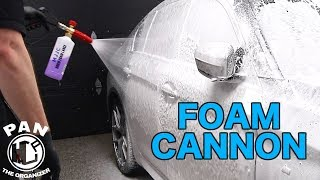 MJJC Foam Cannon Review + GIVEAWAY !!