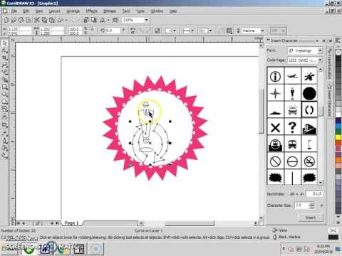 Coreldraw X3 Different And Easy Way For Logo Designing In