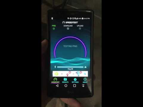 Wind Mobile Canada 4G Speed Test