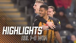 Hull City 1-0 West Bromwich Albion | Highlights | Sky Bet Championship