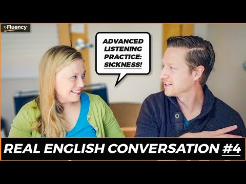 Learn English | A Real Conversation About Getting Sick 🤒 | English Listening Practice (Subtitles)