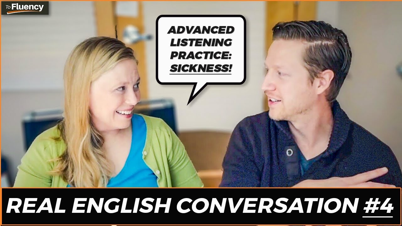 English Listening Practice: A Conversation in English about Getting