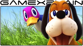 Duck Hunt in Smash Bros Wii U Trailer (High Quality!)
